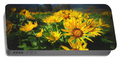 Balsamroot Of The Gorge Portable Battery Charger