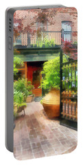 Baltimore - Restaurant Courtyard Fells Point Portable Battery Charger