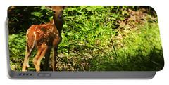 Bambi Portable Battery Charger by Melissa Petrey