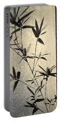 Bamboo Leaves Portable Battery Charger