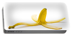 Portable Battery Charger featuring the photograph Banana Skin by Lee Avison