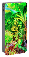 Bananas In Lahaina Maui Portable Battery Charger