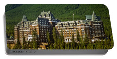 Banff Springs Hotel Portable Battery Charger
