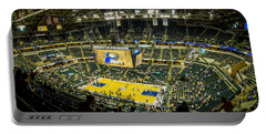 Bankers Life Fieldhouse - Home Of The Indiana Pacers Portable Battery Charger