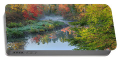 Bantam River Autumn Portable Battery Charger