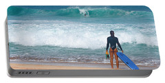 Banzai Pipeline Aqua Dream Portable Battery Charger by Aloha Art