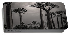 Baobab Highway Portable Battery Charger by Linda Villers