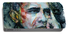 Barack Portable Battery Charger by Laur Iduc