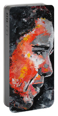 Barack Obama Portable Battery Charger by Richard Day