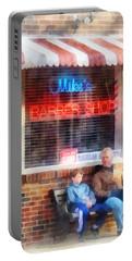 Barber - Neighborhood Barber Shop Portable Battery Charger