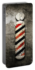Barber Pole Selective Color Portable Battery Charger