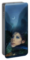Barbra's Smiling Moon Portable Battery Charger