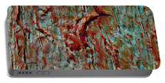 Portable Battery Charger featuring the digital art Bark Layered by Stephanie Grant