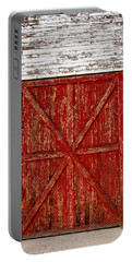 Barn Door Portable Battery Charger by Fran Riley
