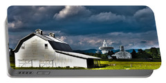 Barns And Radio Telescopes Portable Battery Charger