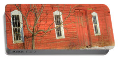 Portable Battery Charger featuring the photograph Barnwall In Winter by Rodney Lee Williams