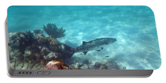 Portable Battery Charger featuring the photograph Barracuda by Eti Reid