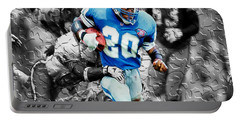 Barry Sanders Breaking Out Portable Battery Charger