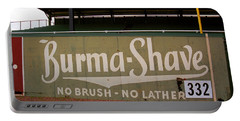 Baseball Field Burma Shave Sign Portable Battery Charger