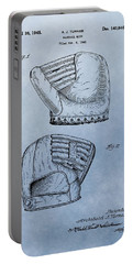 Baseball Glove Patent 2 Portable Battery Charger