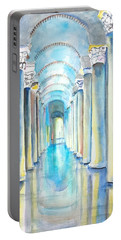 Basilica Cistern Istanbul Turkey Portable Battery Charger