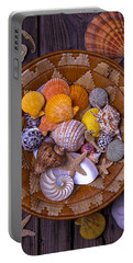Basket Full Of Seashells Portable Battery Charger
