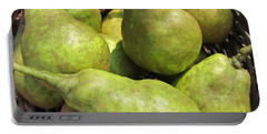 Basket Of Green Pears Portable Battery Charger