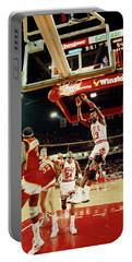 Basketball Match In Progress, Michael Portable Battery Charger
