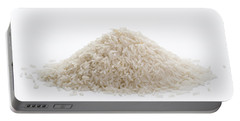 Portable Battery Charger featuring the photograph Basmati Rice by Lee Avison