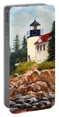 Bass Harbor Head Light Portable Battery Charger