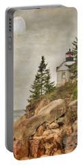 Bass Harbor Head Lighthouse. Acadia National Park Portable Battery Charger