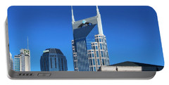 Batman Building And Nashville Skyline Portable Battery Charger