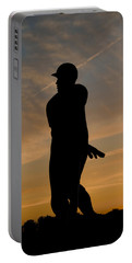 Batter At Dawn - Phillies Portable Battery Charger