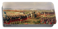 Battle Of Fontenoy, 11 May 1745 The French And Allies Confronting Each Other Portable Battery Charger