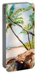 Bavaro Tropical Sandy Beach Portable Battery Charger