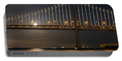 Bay Bridge Moon Rising Portable Battery Charger