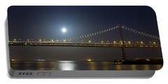 Bay Bridge Supermoon Portable Battery Charger
