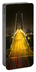 Bay Bridge Traffic Portable Battery Charger