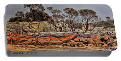 Portable Battery Charger featuring the photograph Bay Of Fires 2 by Wallaroo Images