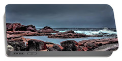 Portable Battery Charger featuring the photograph Bay Of Fires 3 by Wallaroo Images