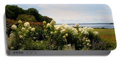 Bay View Bristol Rhode Island Portable Battery Charger by Tom Prendergast