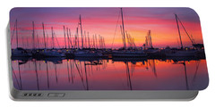 Bayfield Wisconsin Magical Morning Sunrise Portable Battery Charger