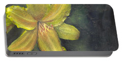'be A Lily Among Thorns' Portable Battery Charger