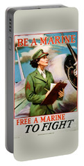 Be A Marine - Free A Marine To Fight Portable Battery Charger