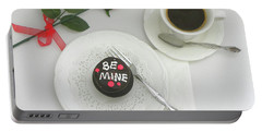 Portable Battery Charger featuring the photograph Be Mine by Sandi OReilly
