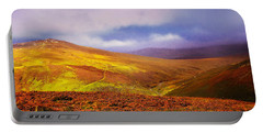 Be There The Light. Wicklow Hills Portable Battery Charger by Jenny Rainbow