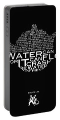 Be Water My Friend  Portable Battery Charger