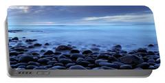 Beach At Dusk, Westward Ho, North Portable Battery Charger
