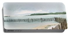 Beach Fence Portable Battery Charger