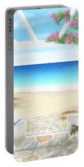 Beach House Portable Battery Charger